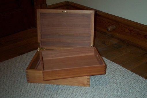 Custom Made Cherry Keepsake Box