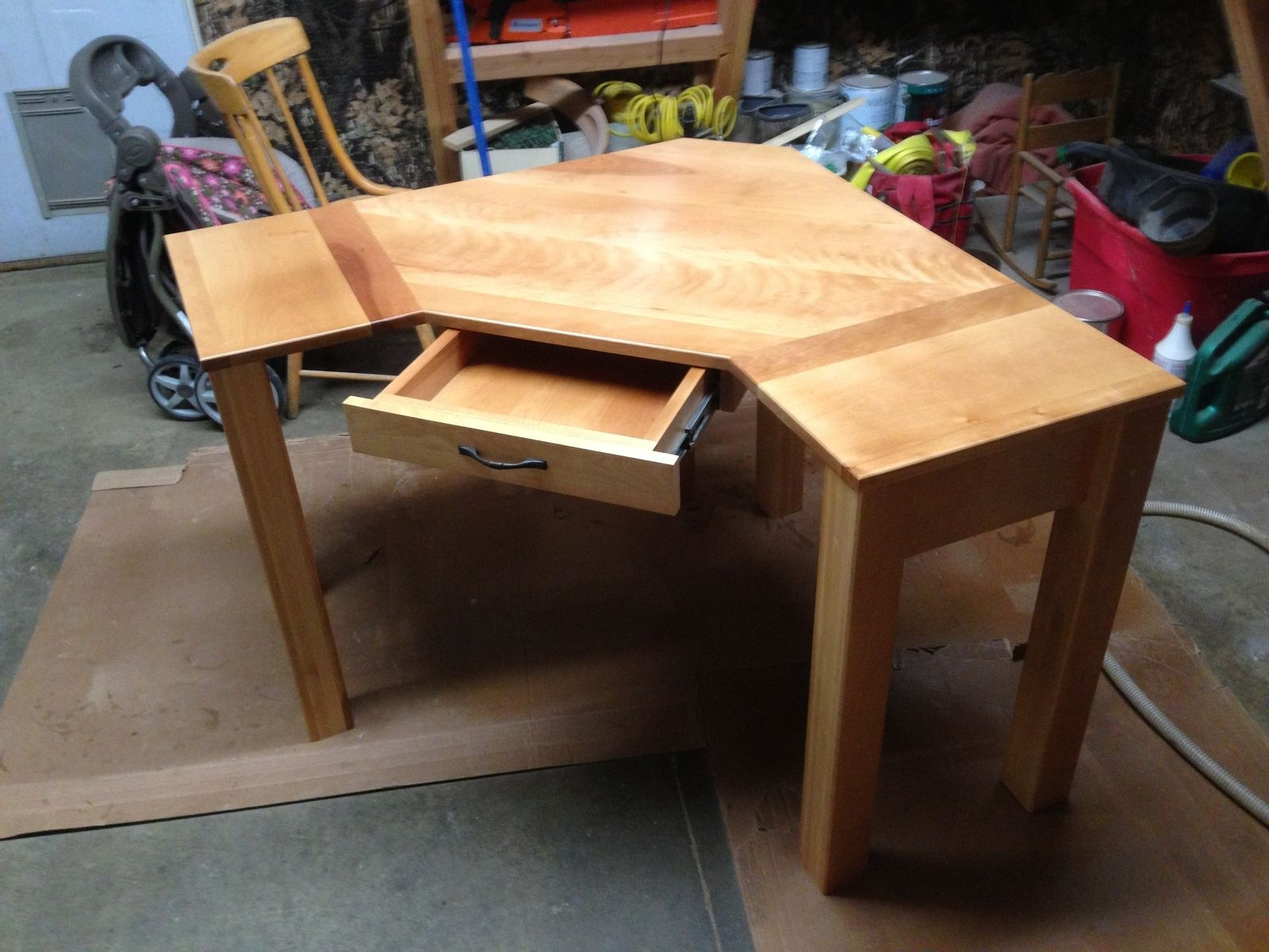 Hand Crafted Custom Corner Desk by Black Swamp Furnishings ...