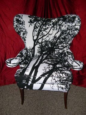 Custom Made Hollywood Regency Chair Maija Isola