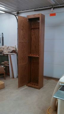 Custom Made Pantry Style Twin Tier Gun Cabinet