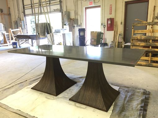 Custom Made Concrete Dining Table