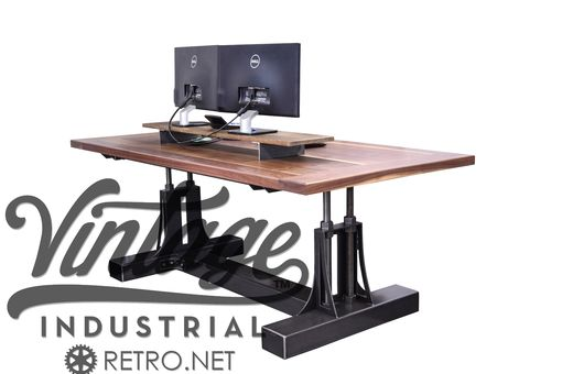 Custom Made Post Industrial Desk