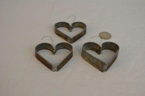 Custom Made Hearts Of Love - Wine Barrel Ring Hearts