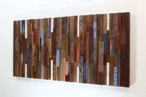 Barn Wood Wall Art hand made wood wall art made of old reclaimed barnwood, different
