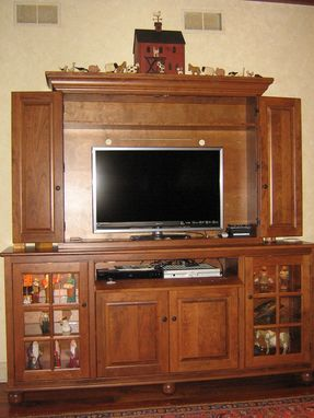 Custom Made Cherry Media Center