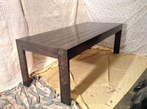 Custom Made Rustic Farm Table