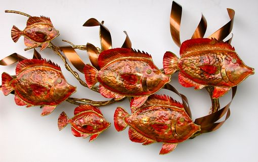 Custom Made Coral Butterfly Fish