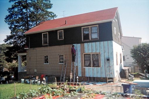 Custom Made Tin Ceilings & Complete Exterior Renovation...Insulation, Siding & Windows