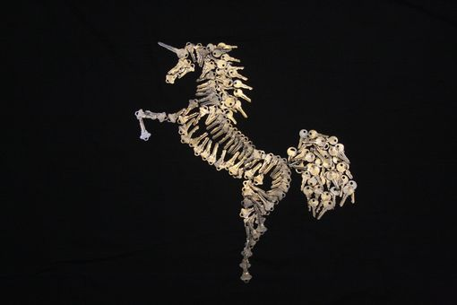 "Custom Made Metal Art For The Wall "" Unicorn Sculpture"""