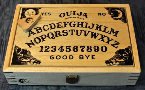 Custom Made Ouija Board, Kindle Fire Or Similar Tablet Case