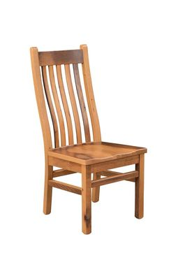 Custom Made Reclaimed Wood Mission Chair (Natural Barnwood)