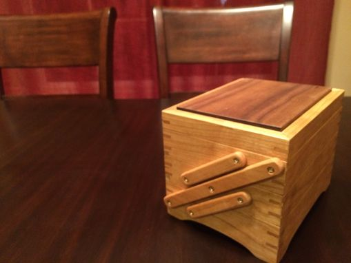 Custom Made Fold-Out Jewelry Box