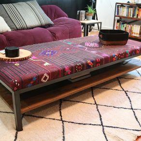 Peachy Custom Ottomans Custommade Com Andrewgaddart Wooden Chair Designs For Living Room Andrewgaddartcom