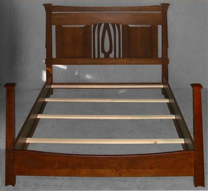 Custom Made Lone Star King Bed