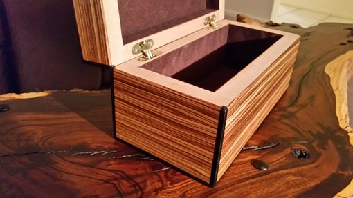 Custom Made Veneered Jewelry Box