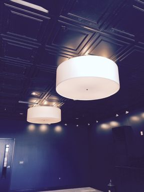 Custom Made 48 Inch And Large Drum Light Fixtures