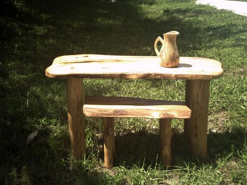 "Custom Made Cypress ""Nesting"" Table Set"