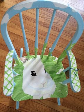 Custom Made Bunny Rocking Chair