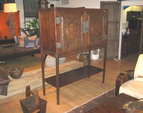 Custom Made Antique Chinese Cabinet Stand