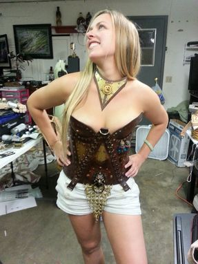 Custom Made Steampunk Corset