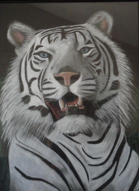 Custom Made White Tiger