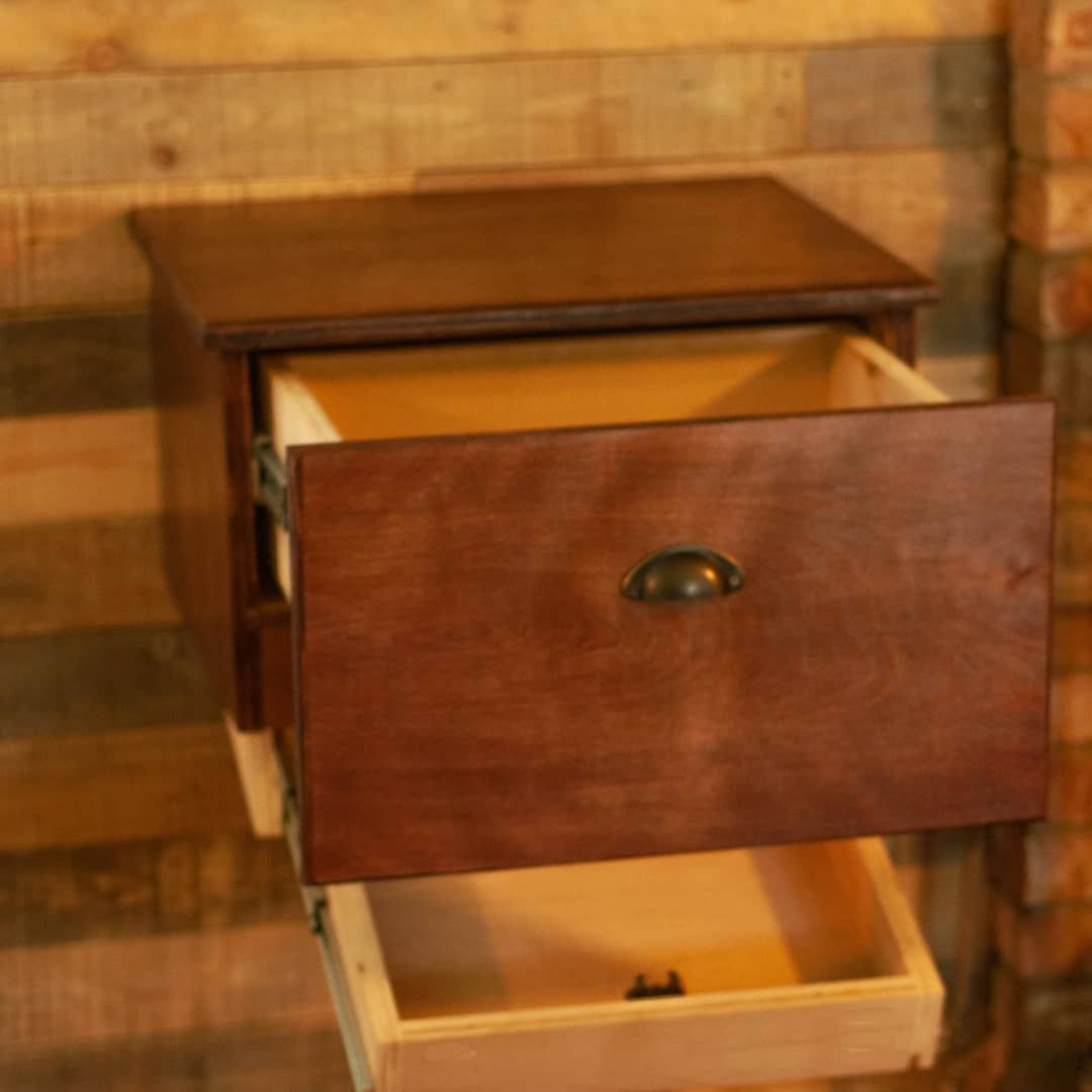 Hand Made Floating Nightstand With Hidden Compartment By Pdm