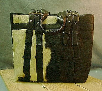 "Custom Made ""The Cow"" Shoulder Bag"