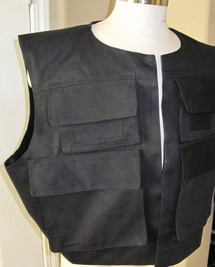 Custom Made Han Solo Rotj  Version Vest In 7 Sizes