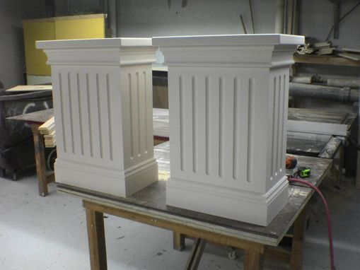 Custom Made Pedestals