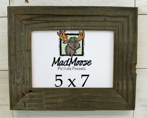 Custom Made Barn Wood Picture Frame Classic 2