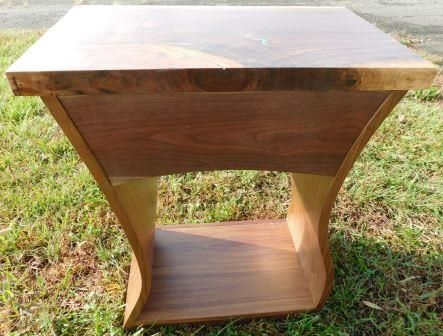 Custom Made Kinda Funky Eclectic End Table