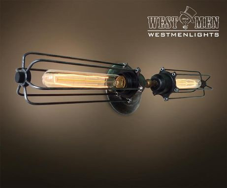Custom Made Westmenlights Decorative Wall Sconce Lamp Vintage Iron Bedroom Lighting