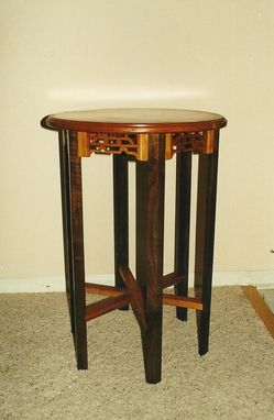 Custom Made Oriental Inspired Tea Table