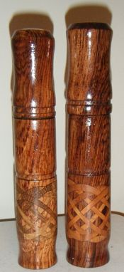 Custom Made Turned Pens And Matching Celtic Knot Boxes
