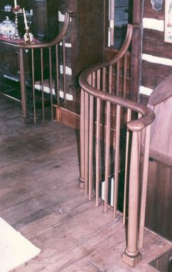 Custom Made Custom Handrails, Stairs & Hatch Doors