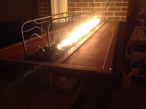 Custom Made Flaming Bar Table