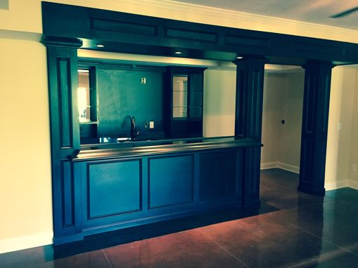 Custom Made Wet Bar