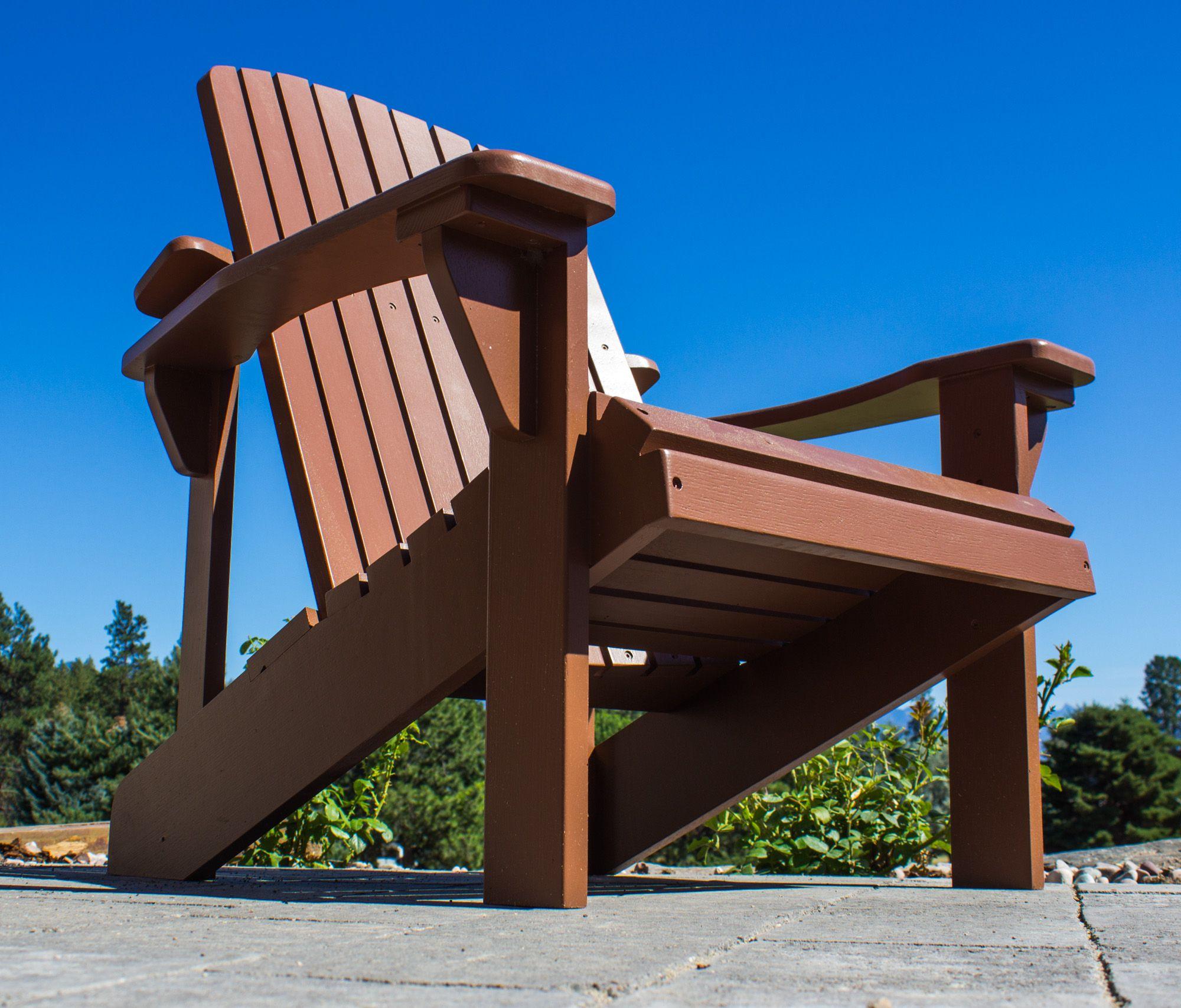 Marvelous Buy A Handmade White Oak Painted Adirondack Chair Made To Creativecarmelina Interior Chair Design Creativecarmelinacom