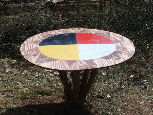Custom Made Living Backyard Table