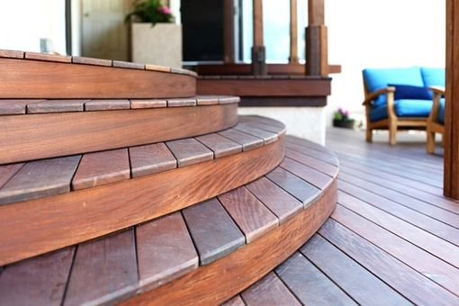 Custom Made Custom Deck For A Mid-Century Ranch Style Home
