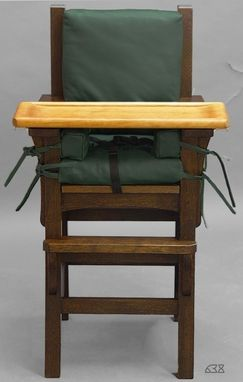 Custom Made Mission High Chair