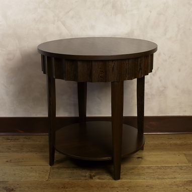 Custom Made Wenge Side Table