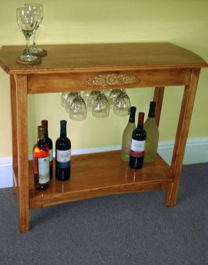 Custom Made Accent Wine Table