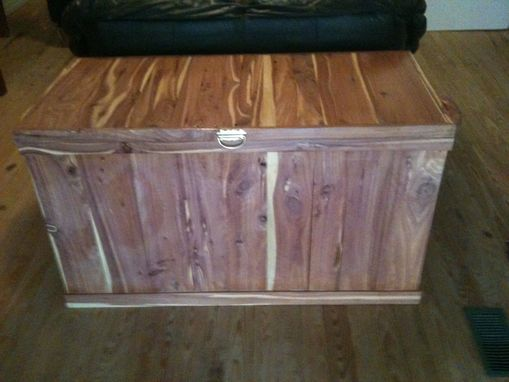 Custom Made Aromatic Cedar Trunk