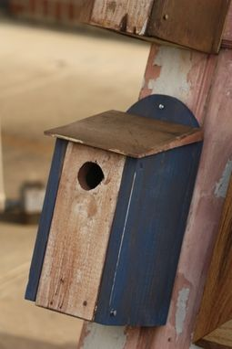 Custom Made Bluebird House