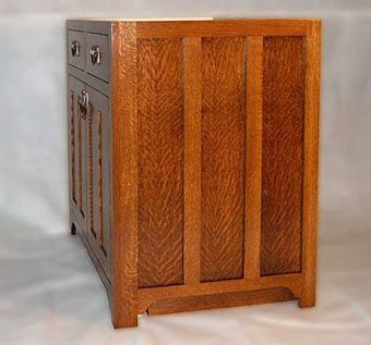 Custom Made Arts & Crafts Cabinetry