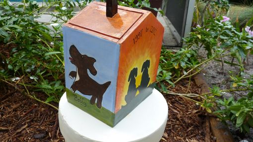 Custom Made Custom Dog House Urn