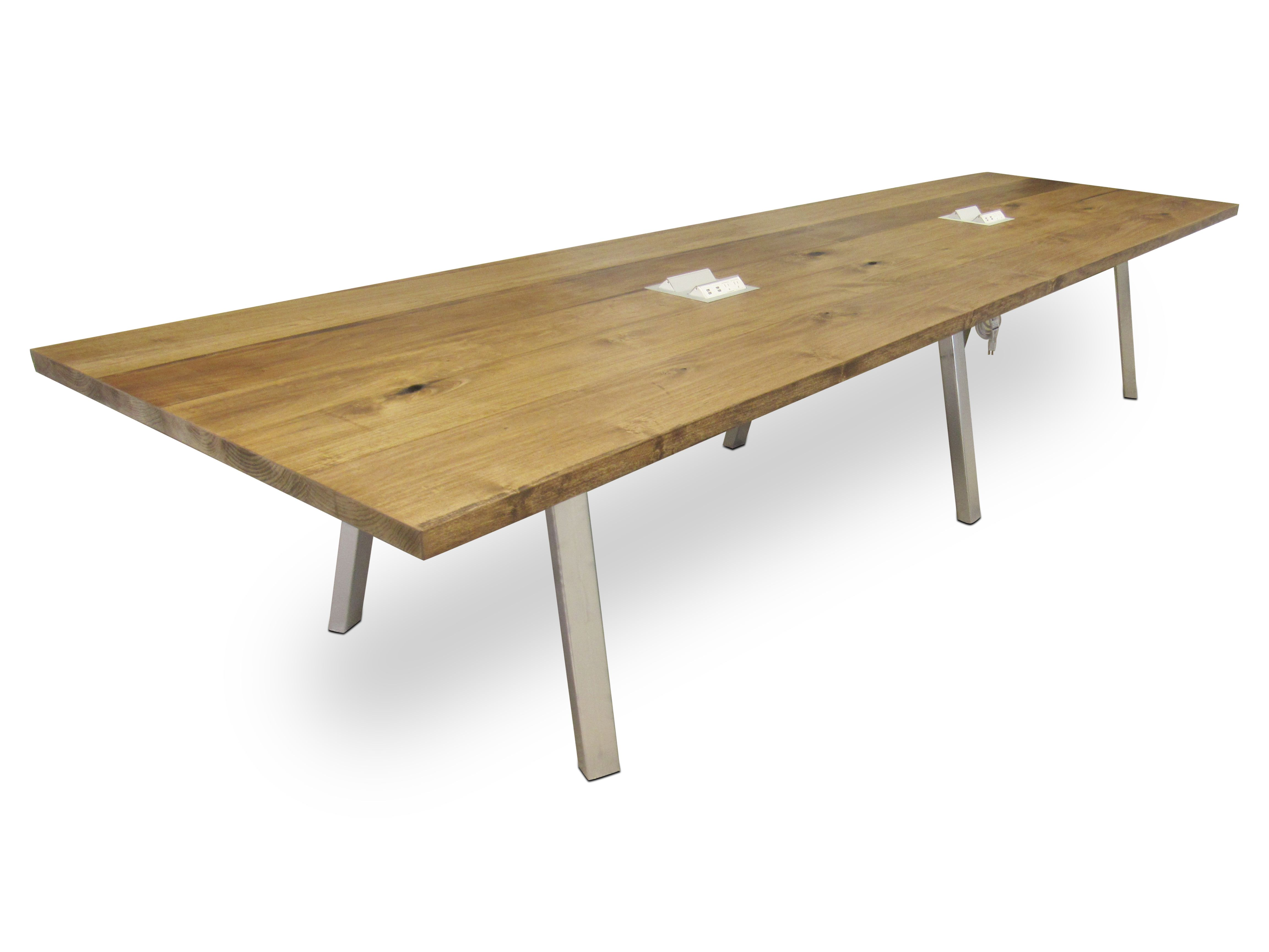 Hand Made Chicago Industrial Modern Conference Table by The Urban
