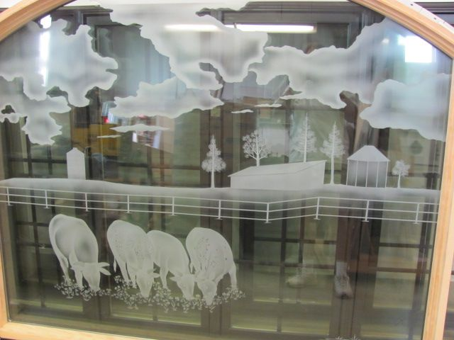 Custom Made Etched Glass For Bedroom Kitchen Pantry Interior Doors Or Windows