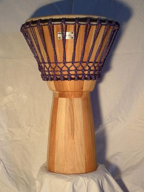Custom Made Custom Djembe Drums In Senegalese Tradition
